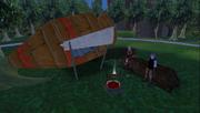Daana and Rakiko hard landing
