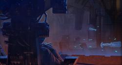 The Emperor during the Jedi Civil War