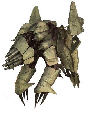 Basilisk war droid render