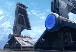 Imperial Assault shuttles (rear)