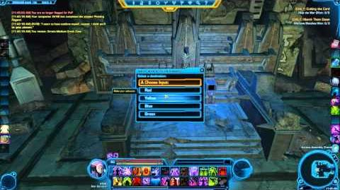 ★SWTOR - Matrix Cube Relic - Tutorial - Matrix Shards Datacrons - Tips & Tricks 12