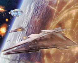 Sith battleship