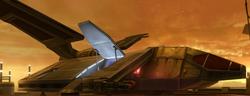 Imperial Assault shuttle