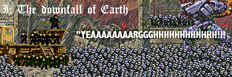Downfall of earth banner