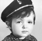 Genndy Tartakovsky as a baby dressed-up as Popeye from CartoonHangover's - Genndy Tartakovsky's POPEYE Animation Test