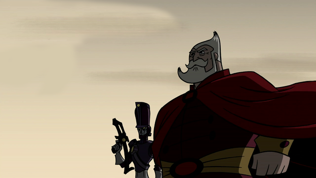 File:The King awaiting the Galalunian Commander in Escape from Galaluna.png