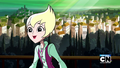 Ilana admiring the view from their new house in Neighbors in Disguise 01.png
