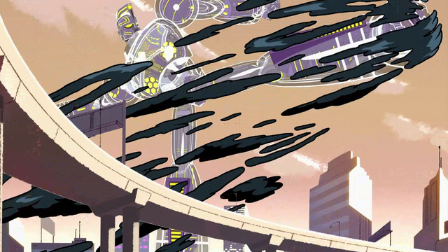 File:Blob Monster fighting Sym-Bionic Titan (mech) in Showdown at Sherman High 02.png
