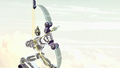 Sym-Bionic Titan (mech) using a bow in I am Octus 02.png