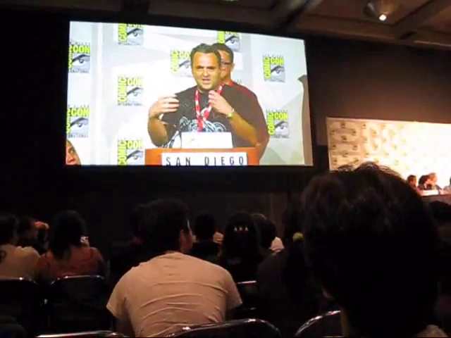 File:Genndy Tartakovsky talks at San Diego Comic-Con (2010) about his new show Sym-Bionic Titan.png