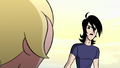 Ilana and Lance discussing the visions in Shaman of Fear 04.png