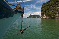 A ships anchor