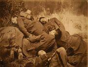 Cadavres Soldats Federes Commune Paris 1871