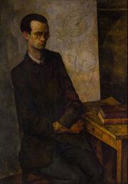 800px-Diego Rivera - The Mathematician - Google Art Project