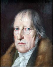 1831 Schlesinger Philosoph Georg Friedrich Wilhelm Hegel anagoria
