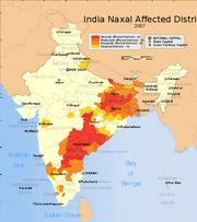 Naxals-map
