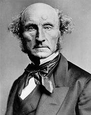 John Stuart Mill by London Stereoscopic Company, c1870