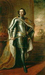 Peter I by Kneller