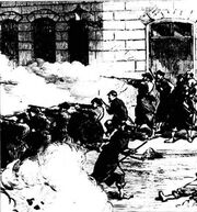 Barricade fighting