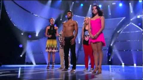 Bottom 4 Girls Guys Solos - Mariah Spears Brittany Cherry Carlos Garland Jade Zuberi Elimination