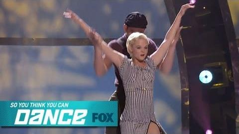 Malece & Alan Top 12 Perform SO YOU THINK YOU CAN DANCE FOX BROADCASTING