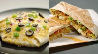 """Crunchwrap Supreme - Taco Bell's """"For Here or To Go"""""""
