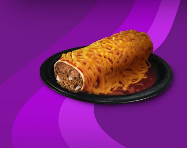 File:Taco Bell Enchirito - Beef 1 92755.jpg