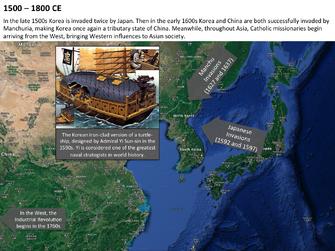Korea 1800CE