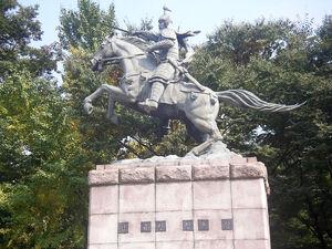 Statue of Kim Yushin