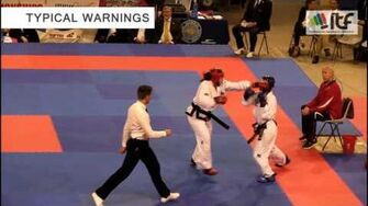ITF Taekwon-Do introduction sparring