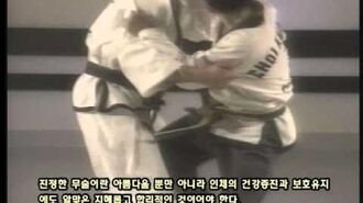 Grand Master Kwang Jo Choi Documentary (Korean Sub) 3 of 5.AVI