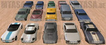GTA Vehicles Collection
