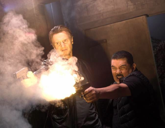 File:Taken 4 parody snapshot with Bryan Mills (Liam Neeson) and Guillermo on Jimmy Kimmel Live.png