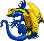 Toxidermis dragon male dyeing