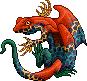 Toxidermis dragon male retic