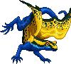 Toxidermis dragon female dyeing