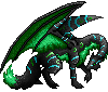 Silvdragon adult male