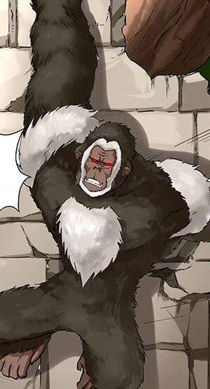 Blue Armed Ape