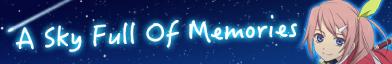 A Sky Full of Memories (Banner)