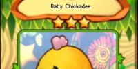 Baby Chickadee (card)