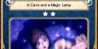 A Cave and a Magic Lamp