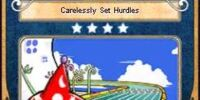 Carelessly Set Hurdles