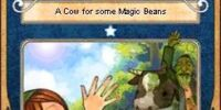 A Cow for some Magic Beans