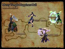 Happiness Hall map