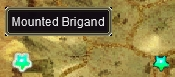 Mounted Brigand in Desert map
