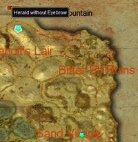 Herald with No Eyebrow map