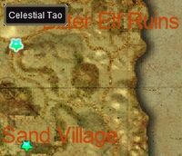 The Epigraph in Sand Village map