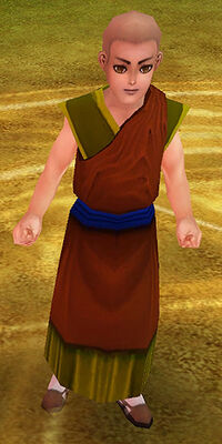 Buddhist Novice Ming