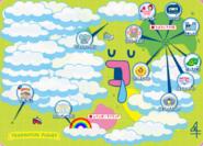 Tamagotchi Planet Map (August 2016)