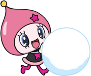Himespetchi Snowball Rolling